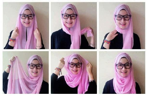 Tips Hijab Pashmina Praktis Untuk Santai dan ke Kantor