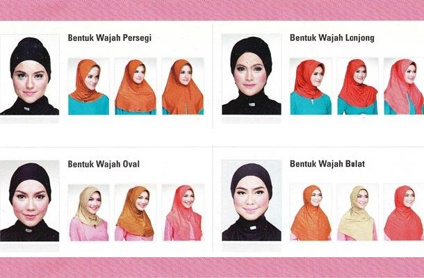 Tips Cara Memilih Hijab Sesuai Bentuk Wajah