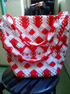 Cara Membuat Tas dari Tali Kur untuk Pemula Step by step dan Sederhana