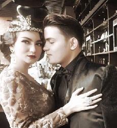 Foto Prewedding Alessia Cestaro Menikah Dengan Ahmad Affandi