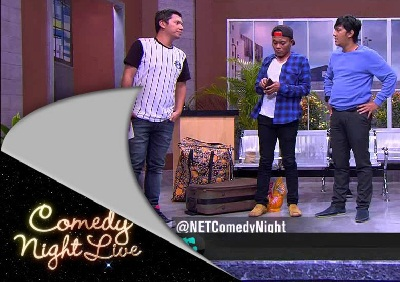 Bintang tamu comedy night live hari ini